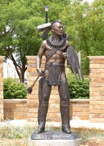 Chickasaw Indian Statue - Oklahoma City