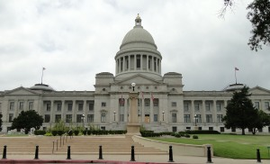 The Capitol Building, Little Rock, Arkansas