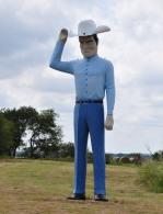 The big Texan in Sherman