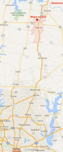 Sherman, Tx map