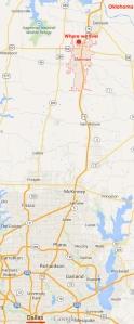 Sherman, Tx map