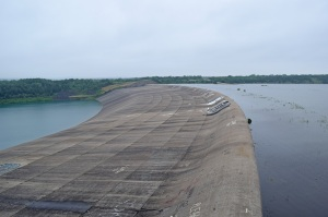 The Dry Spillway at Denison Dam - May23, 2015