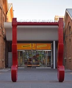Newcastle Museum Entrance