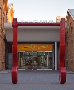 Newcastle Museum Entrance