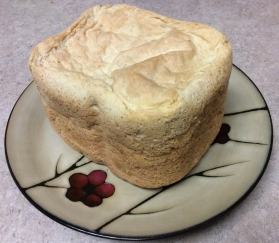 My first homemade loaf of bread!