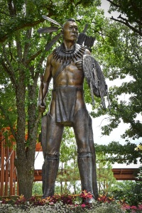 Chickasaw Warrior statue