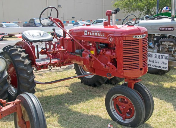 Circa 1940's Farmall Tractor (note the 2 seats)