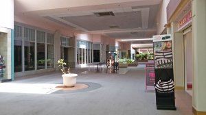 An empty Midway Mall