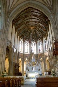 inside St. Eunan's Cathedral