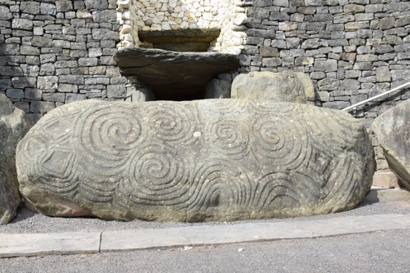 Entrance to Newgrange