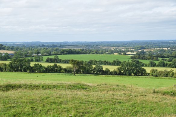 views of the Boyne Valley from Tara