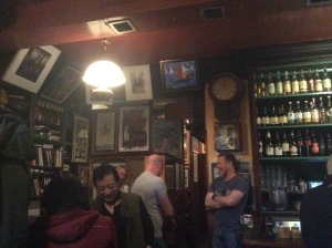 Inside Tigh Neactain (before the crowds)