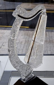 Waterford's crystal harp