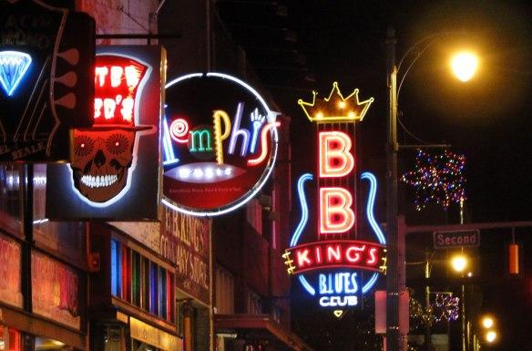Beale Street, Memphis, Tennesee