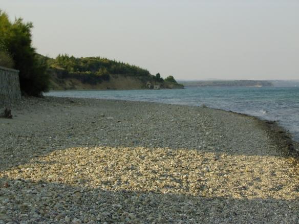 ANZAC Cove, Gallipoli peninsula