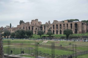 Circus Maximus in foreground